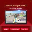 "Junsun D100 Bluetooth 7"" Rear View Camera GPS Navigation free map Truck navigators automobile"