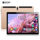 "Tablets PC 10.1 "" Gold color Phone Call 3g 4g LTE Android 9.0 Octa Core GPS WiFi Bluetooth"