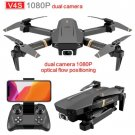 Drone V4 Camera 1080P Dual camera 1 Battery Rc Toys WiFi fpv Quadcopter Helicopter