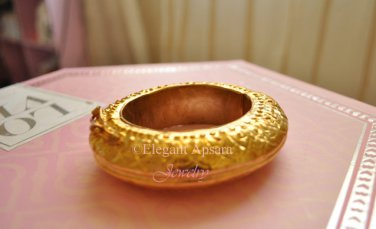 Khmer Gold Chucky Bangle Bracelet Traditional Wedding Jewelry Cambodian