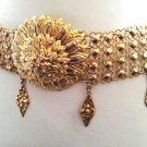 Khmer Cambodian Gold Wedding Jewelry Belt Rachana Khmer Boran Khsae Krovat Diamond Shape Style