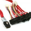 LSI / 3Ware SAS cable SFF-8087 to SFF-8482 power x4 SAS