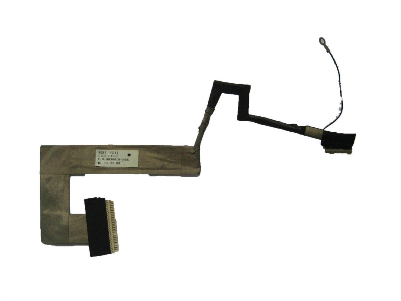 "MSI Wind U90 U100 U110 U120 LCD LVDS Cable K19-3030019-H58 NO11 10"""