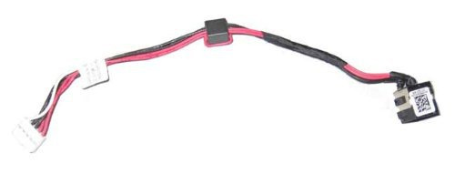 details about dc power jack harness cable for dell