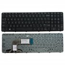 Laptop US Keyboard with Frame For HP 15-f027ca 15-f033wm 15-f039wm 15-f048ca