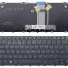 Original New UK black backlit keyboard fit HP Pro x2 612 G1