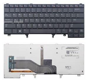 Original New US black backlit Keyboard fit Dell Latitude E6230 E6430 E6440