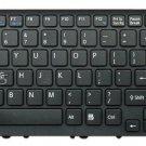 New US Black & Black frame keyboard fit Sony PCG-61511T