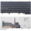 Original New US black backlit Keyboard fit Dell Latitude E5420M XT3