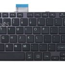 New Black US Keyboard fit Toshiba 0KN0-ZW1US23 9Z.N7USU.A01 NSK-TVASU 01