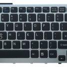 New US Backlit & frame Keyboard fit Sony 148781311 9Z.N3S82.101 55102H02-035-G