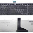 New BLK US keyboard fit Toshiba Satellite C75-B C75D-B C75T-B C75DT-B Framed
