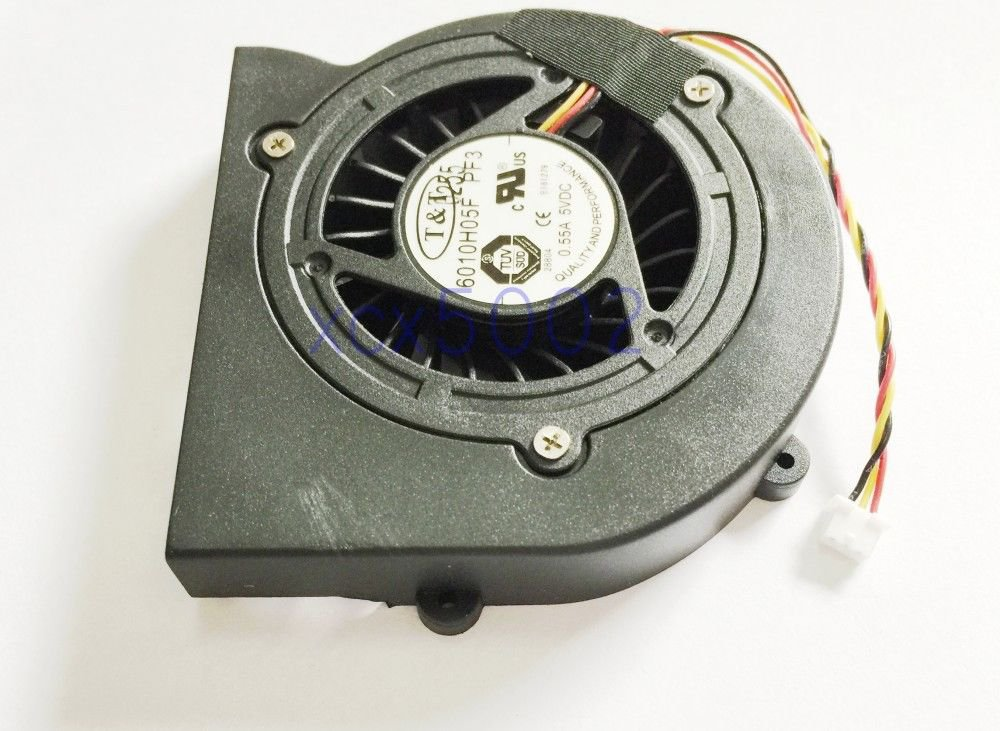 New T&T 6010H05F-PF3 Cpu Fan For MSI Laptop Series 5VDC 0.55A