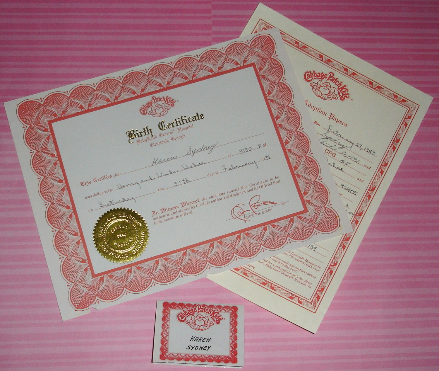 Free cabbage patch birth certificate template image collections free cabbage patch birth certificate template image collections delighted doll birth certificate template contemporary cabbage patch yadclub Choice Image