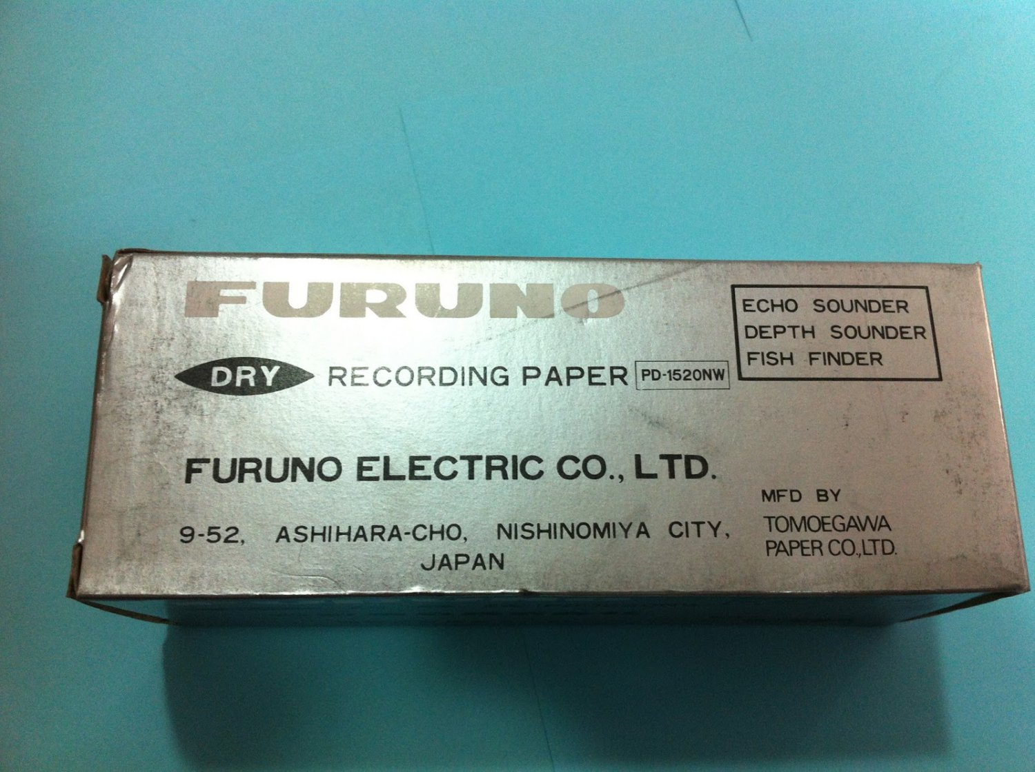 Lot of 4 Furuno Dry Recording Paper Type : 1520NW