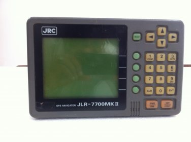 JRC JLR7700 MKII GPS DISPLAY FOR BOATS AND YACHTS