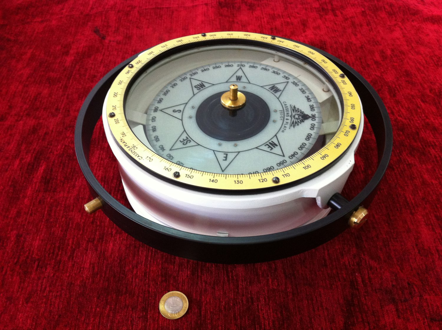 Cassens & Plath Type-11 Reflector Compass Made In West Germany