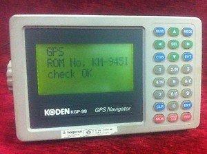 KODEN KGP98 GPS Navigator for Boats and Yachts