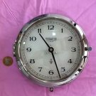 Wempe Chronometerwerke Chrome Clock in mint condition, Made in Germany