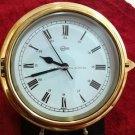 Rare Barigo Quartz Marine Clock with Roman Numbers Made in Germany
