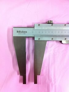 Mitutoyo Long Jaw Vernier Caliper Type 160-104 With Nib Style Jaws (0-1000mm)