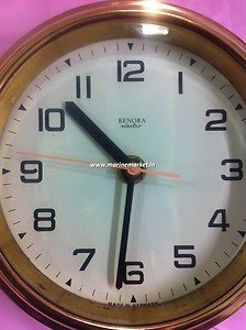 Benora Marine Clock Made in Germany 100% Brass