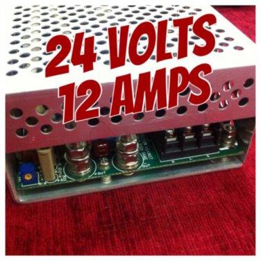 Tamura SMPS Power Supply. +24 volts ,12 Amps, 115V/230V/240V ~47-63Hz