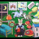 Goodnight Moon 17-pc flannel felt story