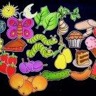 Hungry Caterpillar 33-pc Flannel Felt Story