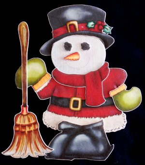 Dear Mr. Frosty 11 pc Flannel Felt Story + song