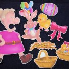 An Old Lady who Swallowed A Chick 9-pc Felt Story