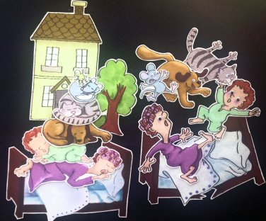 The Napping House 14-pc Felt Story