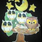 Owl Babies 11-pc Flannel Board Felt