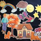 Draw Me a Star 16-pc Flannel Board Felt Story