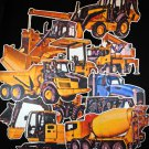 Construction Vehicle 10-pc Flannel Felt Board Activity Set