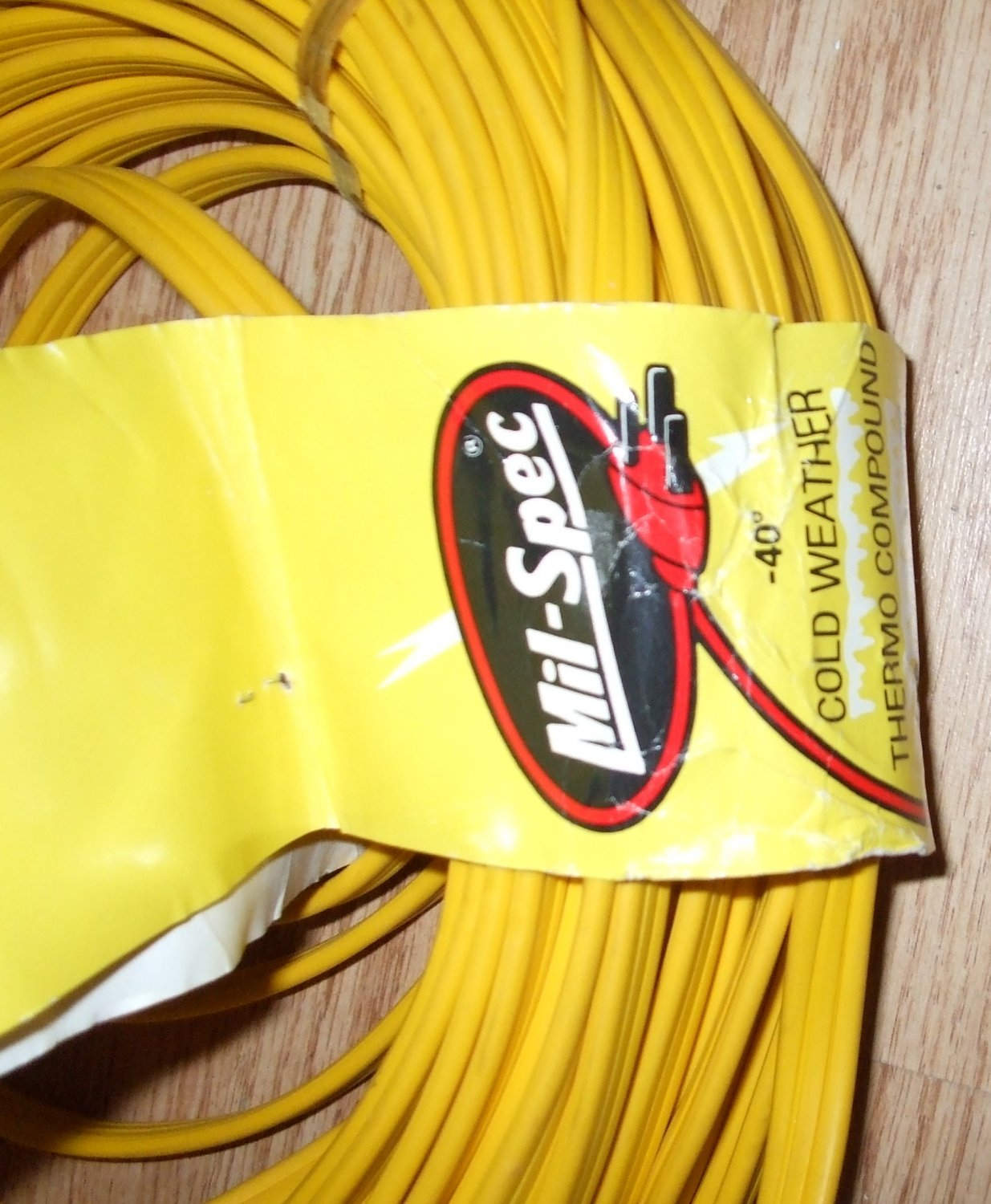 Extention Cord Sale 100ft Yellow Flat Extension Cord Vendor Mill