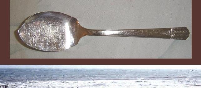 Wm Rogers A+ Silver JELLY OR CHEESE KNIFE - Great Shape