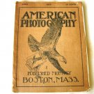 1914 America Photography Magazine - Great Pictures