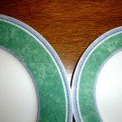 (2) Villeroy & Boch -Switch 3 - COSTA  Green - Dinner and Salad Plate