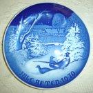 Bing & Grondahl 1970 Christmas Plate  B&G
