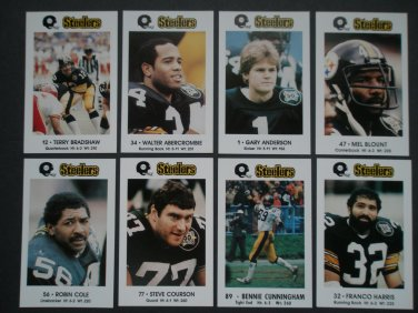 1983 Pittsburgh Steelers Police Team Set