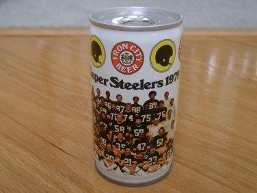 1979 Super Steelers Beer Can