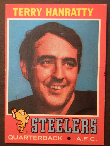 1971 Topps #30 Terry Hanratty ROOKIE Card Near Mint