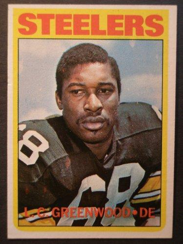 1972 Topps #101 L.C. Greenwood ROOKIE Card Near Mint