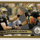2012 Topps Gold New Orleans Saints 1652/2012