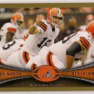 2012 Topps Gold Cleveland Browns 1989/2012