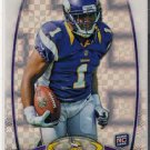 2012 Topps Platinum Chrome Xfractor Jarius Wright Rookie