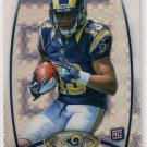 2012 Topps Platinum Chrome Xfractor Chris Givens Rookie