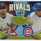 2009 Upper Deck Rivals Albert Pujols & Derek Lee