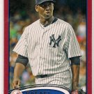 2012 Topps Update Red Border Rafael Soriano